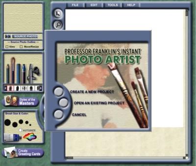 Professor Franklin's Instant Photo Artist 2.0 Portable