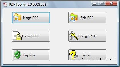 PDFToolkit 1.0.2008.208 Portable