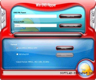 WinDVD Ripper 9.5.1 Portable