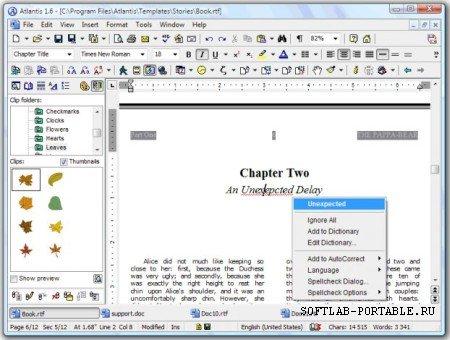 Atlantis Word Processor 4.0.6.4 Portable