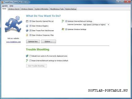 TweakNow PowerPack 4.6.0 Portable