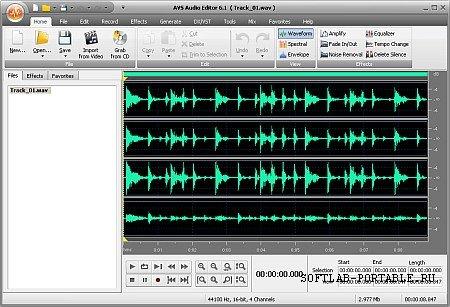AVS Audio Editor 10.1.1.558 Portable