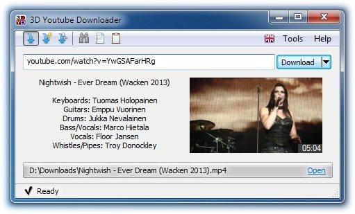 3D Youtube Downloader 1.19.8 Portable
